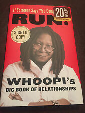 Whoopi Goldberg Signed If Someone Says You Complete Me Run Autographed Auto Book
