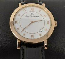 NEW Carl F Bucherer Adamavi 18kt Rose Gold Diamond Automatic 36mm Watch $7000