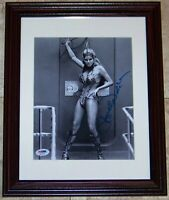 STUNNING POSE! Raquel Welch Signed Autographed 8x10 Photo PSA COA! BLOWOUT SALE!