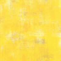 Moda Quilt Fabric Grunge Basics Sunflower by BasicGrey by half-yard #30150 281