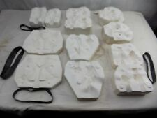 Ceramic Slip Mould, Duncan Flutterby baby, set of 6 molds, very fine quality