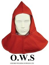Red Flame Retartant H/D Welding Welders Hood