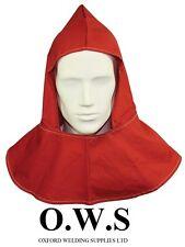 Red Flame Retartant H/D Welding Welders Hood