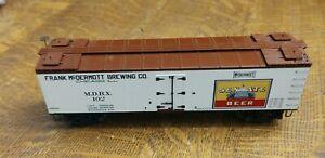 HO Scale, Frank McDermott Brewing Boxcar MDBX #102 Senate Beer.  No brand detail