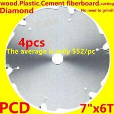 4PCS PCD saw blade FIBRE CEMENT Diamond  7inch circular saw blade 185mm 20hole