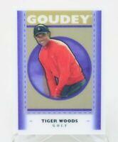 GOUDEY Goodwin Champions Tiger Woods  Lenticular Golf Card Upper Deck GL5 NM/M