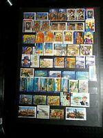 100 Different Australia International Post Stamps~Good/Fine Used~A~ UK Seller