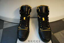GUCCI Python High Top Sneaker Baskets Chaussures Hommes Neuf shoes men Trainers SC AM