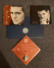 Michael Buble Rare RED Let It Snow Lost Everything Grown Up Christmas List CDs