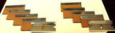 5 x  Professional Carbon Razor Blades | Nagra Revox Studer Sony Pioneer Teac
