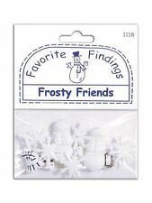 Favorite Findings Buttons Frosty Friends