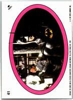 1989 Topps Batman The Movie 2nd Series Sticker Card #41