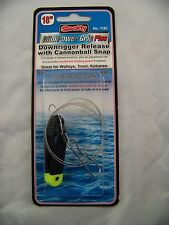 """1181 Scotty Downrigger Release MINI Power Grip Plus 18"""" long CANNONBALL Snap 543"""