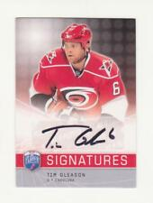 2008-09 Upper Deck Be A Player Tim Gleason Auto # S-TG (08-09) (Carolina) BAP