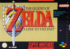 Nintendo SNES juego-Legend of Zelda: link to the Past alemán con embalaje original