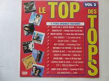 compil Le Top des TOPS vol 2 BOY GEORGE  U2  WHITNEY HOUSTON BERTIGNAC 7485851