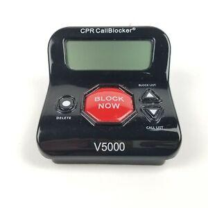 Call Blocker CPR V5000 for Landline - Block Robocalls, Nuisance Call, Scam Calls