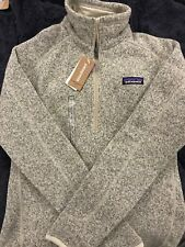 Patagonia Womens Better Sweater 1/4 Zip Pelican Size Small