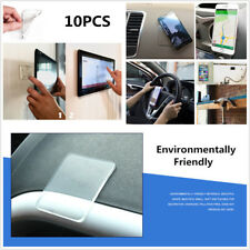 DIY 10X Sticky PU Gel Pad Anti Slip Phone Pads Kitchen Bathroom House Car Holder