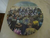 Royal Worcester Collectors Plate Good Old Days Collection The Folderols