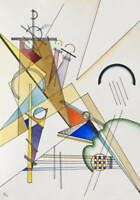 Wassily Kandinsky Gewebe Poster Reproduction Paintings Giclee Canvas Print