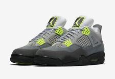 NEW Air Jordan 4 Retro SE Cool Grey/Neon Volt Max 95 CT5342-007 Men's Size 13