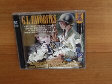 G.I.FAVORITES : THE TUNES OF W.W.II : 2 CD Set : DSOY685