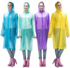 Mercy! Disposable Large Outdoor Anti-Rain Plastic Raincoat for Camping Hiking