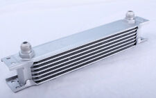 7 Row Oil Cooler 3/4 16 UNF Universal Racing Kit Engine Alloy Race Silver NEW
