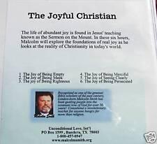 "Malcolm Smith Series"" The Joyful Christian"" 6hrs on cds"