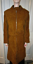 Vintage Anne Klein For Mallory 60'S Soft Brown Suede Mod Jacket, Rare & Stunning