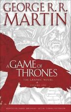 A Game of Thrones, Volume 1: The Graphic Novel by George R.R. Martin Hardcover B