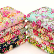 Less than 1 Metre Flowers & Plants Fabric Crafts