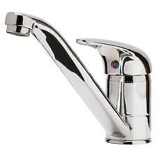 Chrome Single Lever Traditional Kitchen Taps