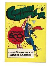 Captain Marvel Jr  #12 1953  British Magic Ladder!