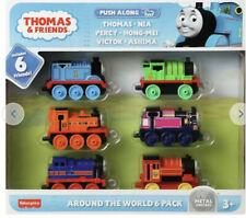Thomas & Friends All Around the World 6 Pack TrackMaster Die-Cast Figure Set