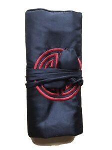 Portable Roll Up Jewellery Travel Pouch