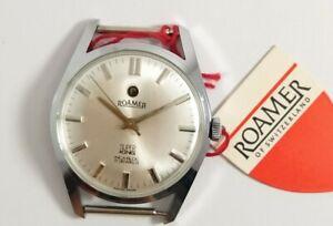 NOS Vintage Roamer SUPER KING, 17J Boysize watch, Hand Winding, Swiss Made