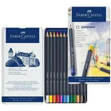 FABER CASTELL GOLDFABER PENCILS IN TIN SET OF 12  - NEW ART PENCILS
