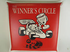 Vintage GI JOES 200 Indy Races Seat Cushion Store The Winners Circle Portland,OR