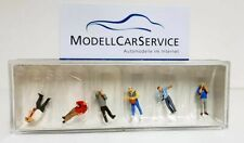Preiser 1/120 (Tt ): 75047 Fans de Train - avec Caméra (6 Figurines)