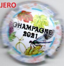 Capsule de champagne Générique Jeroboam puzzle libellule 2021 NEW