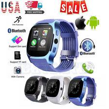 Bluetooth Smart Watch Facebook Whatsapp Camera Support SIM TF Card Phone Call