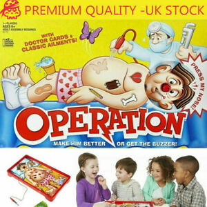 Operation Kids Family Classic Board Game Fun Childrens Xmas Gifts Toys UK HOT