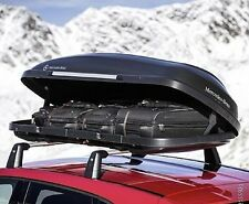 Genuine Mercedes Benz 450l Black Roof Top Box Opens Both Sides A0008400300