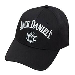 Jack Daniels Jack Lives Here Baseball Hat Black