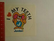 Aufkleber/Sticker: Jordan i love my Teeth (30101639)
