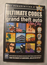 Action Replay Ultimate Codes Grand Theft Auto Vice City Sony Playstation 2 PS2