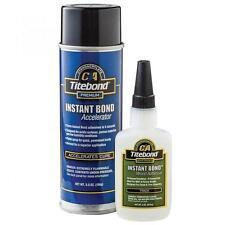 Titebond Instant Bond Dual Pack (4 oz Instant Bond & 5.5 oz Accelerator)