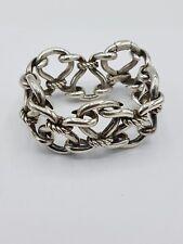 Vintage Hermès Bracelet Silver/HERMES bracelet en argent 113 g